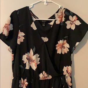 Alyx Large Floral Dress with side tie